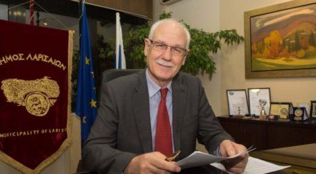 Απολογισμό θητείας κάνει απόψε ο δήμαρχος Λαρισαίων Απόστολος Καλογιάννης