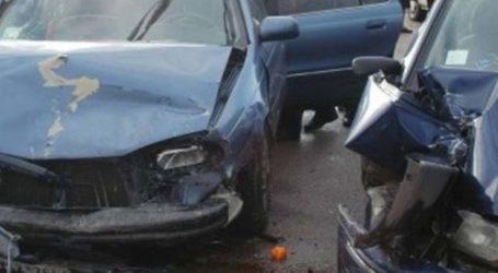 Καραμπόλα τεσσάρων αυτοκινήτων και μηχανής έξω από την Αγιά – Δύο άτομα στο Νοσοκομείο
