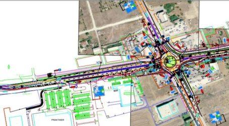 Κυκλικό κόμβο στην είσοδο της Λάρισας επί της Φαρσάλων κατασκευάζει η Περιφέρεια
