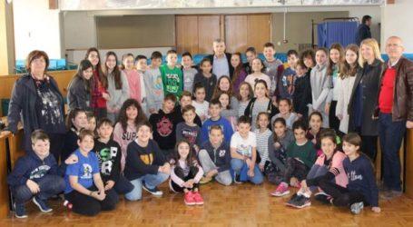 Μαθητές επισκέφτηκαν την έδρα της Περιφέρειας Θεσσαλίας