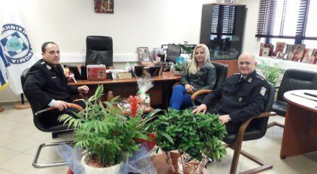 Εθιμοτυπική επίσκεψη της Αντιπεριφερειάρχη στην Αστυνομική Διεύθυνση Μαγνησίας