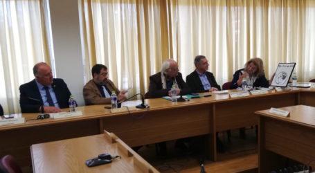 Ενδιαφέρουσα Ημερίδα για τη Θεσσαλία και τη Μακεδονία πραγματοποιήθηκε στο Δήμο Ρήγα Φεραίου