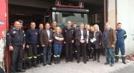 Απ. Παπαδούλης: «Δακτύλιος ενάντια στο κυκλοφοριακό του Βόλου» – Επίσκεψη και στην Πυροσβεστική