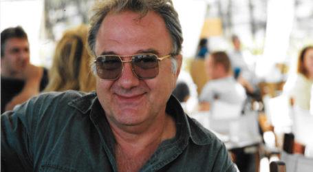 Το βιβλίο του παρουσιάζει στο Βόλο ο ηθοποιός Π.Λιάρος