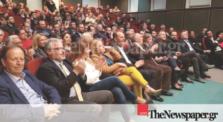 Στον Βόλο η ευρωομάδα της ΝΔ Μεϊμαράκης, Μάρκου, Τσελέντης [εικόνες]