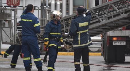 Εντυπωσιακές εικόνες από την άσκηση ετοιμότητας της Πυροσβεστικής στη βιομηχανία ΒΙΟΚΑΡΠΕΤ (φωτο – βίντεο)