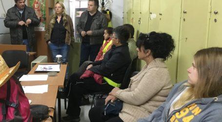 Στην Υπηρεσία Πρασίνου του Δήμου Βόλου ο υποψ. δήμαρχος Απ. Ριζόπουλος
