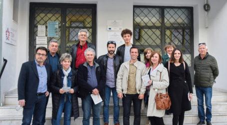 Στα ΚΑΠΗ Αγριάς οι υποψήφιοι δημοτικοί σύμβουλοι των «Μαζί για τον Βόλο»