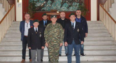 Εθιμοτυπικές επισκέψεις στον διοικητή της 1ης Στρατιάς