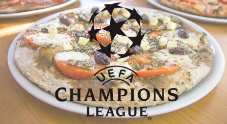 Βραδιά Champions League η αποψινή, παρέα με… «Πίτσες Μπλε»