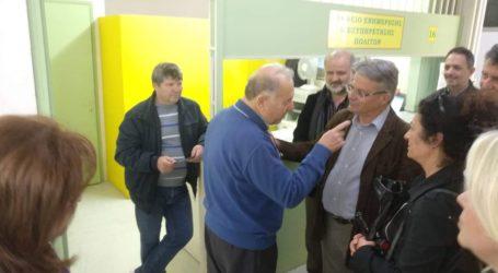 Επίσκεψη Απ. Παπαδούλη σε ΔΟΥ Βόλου και Δασαρχείο