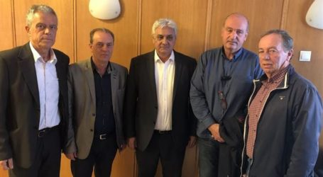 Ικανοποίηση Κολλάτου για τη σύσκεψη των αμυγδαλοπαραγωγών στο υπουργείο