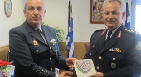 Εθιμοτυπική επίσκεψη του διοικητή της 110 Π.Μ. στη Γενική Περιφερειακή Αστυνομική Διεύθυνση Θεσσαλίας