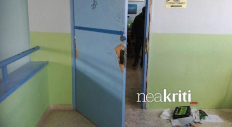 Μεγάλες καταστροφές στο Γυμνάσιο Αμπεριάς από τη νέα εισβολή αγνώστων