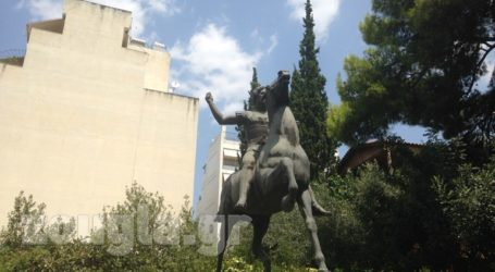 Αυτό είναι το άγαλμα του Μεγάλου Αλεξάνδρου που θα τοποθετηθεί στην Αθήνα