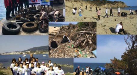 Πρόγραμμα εθελοντισμού για τον καθαρισμό όλων των παραλιών