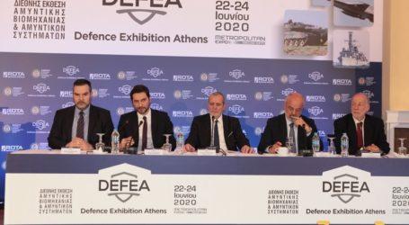 Η Ελλάδα «επανατοποθετείται στον χάρτη των διεθνών αμυντικών εκθέσεων» με τη διοργάνωση της DEFEA