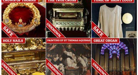 Αγωνία για τους θησαυρούς της Παναγίας των Παρισίων-Τι σώθηκε, τι καταστράφηκε και τι αγνοείται
