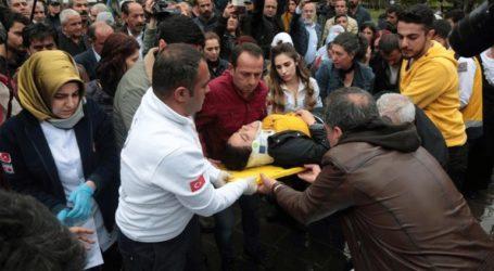 Τραυματίστηκε βουλευτής του φιλοκουρδικού κόμματος σε διαδήλωση στο Ντιγιάρμπακιρ