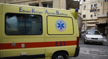 Σύγκρουση αυτοκινήτων στη Λάρισα – Ένας νεαρός τραυματίας