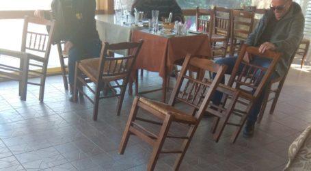 Στο Δίλοφο Φαρσάλων κατάργησαν τους νόμους της βαρύτητας – Σούζα οι καρέκλες … (φωτο