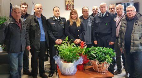Κοινή δημιουργία δράσεων Αστυνομίας και Δήμου Βόλου υποσχέθηκε η Ν. Καπούλα