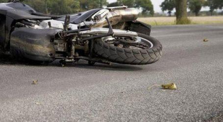 Τροχαίο δυστύχημα με μοτοσικλέτα στην εθνική οδό Θεσσαλονίκης-Ν. Μουδανιών