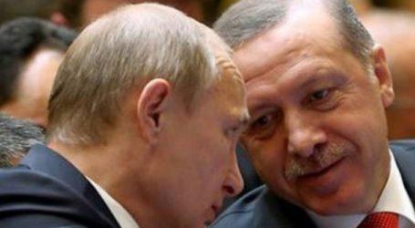 Ο Πούτιν συνεχάρη τον Ερντογάν για την επιτυχία του κόμματός του στις εκλογές