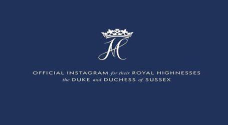 Ο πρίγκιπας Χάρι και η Μέγκαν Μαρκλ άνοιξαν τον δικό τους λογαριασμό στο Instagram