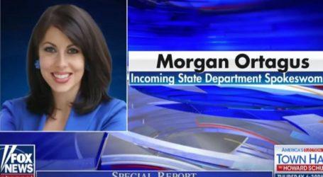 Η Μόργκαν Ορτέιγκους ονομάστηκε νέα εκπρόσωπος του Στέιτ Ντιπάρτμεντ