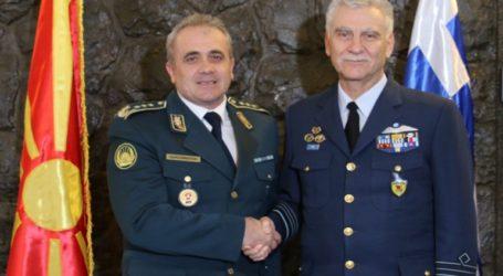 Επίσημη επίσκεψη του Αρχηγού ΓΕΕΘΑ στη Βόρεια Μακεδονία