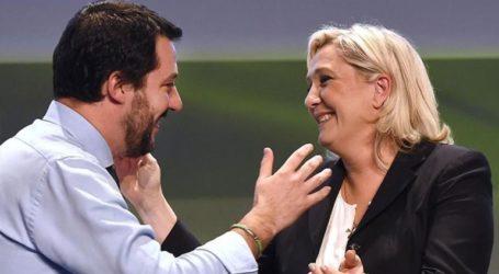 Συνάντηση Λεπέν-Σαλβίνι στα μέσα Μαΐου εν όψει των ευρωεκλογών