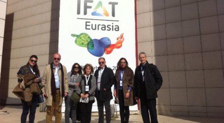 Επιχειρηματική αποστολή του Ελληνογερμανικού Επιμελητηρίου στην IFAT Eurasia