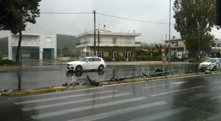 Τροχαίο ατύχημα στη διασταύρωση της Ραφήνας