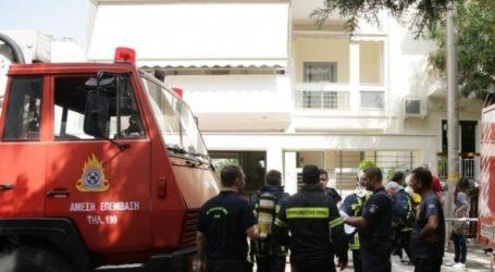 Φωτιά σε διαμέρισμα στη Χαριλάου