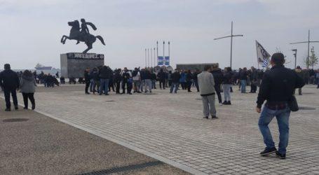 Οπαδοί του ΠΑΟΚ έδιωξαν τον Ψωμιάδη από τη συγκέντρωση για την Μακεδονία