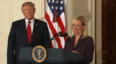 Ο Τραμπ ανακοίνωσε την αποχώρηση της υπουργού Εσωτερικής Ασφαλείας Κίρστεν Νίλσεν