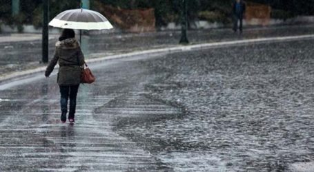 Βροχερός ο καιρός και την υπόλοιπη εβδομάδα