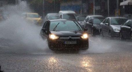 Προβλήματα στους δρόμους λόγω βροχής
