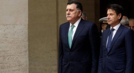 Ο επικεφαλής της Κυβέρνησης Εθνικής Ενότητας συζήτησε τις εξελίξεις με τον Ιταλό πρωθυπουργό