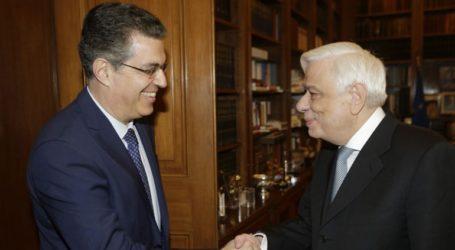 Συνάντηση Πρ. Παυλόπουλου με τον νέο πρόεδρο του Ευρωπαϊκού Δικαστηρίου Δικαιωμάτων του Ανθρώπου