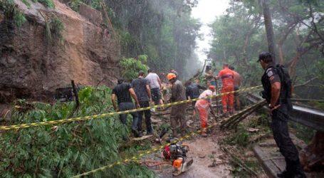 Τουλάχιστον 10 νεκροί εξαιτίας πλημμυρών και κατολισθήσεων στο Ρίο ντε Τζανέιρο