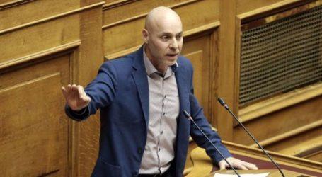 Παραιτήθηκε από το βουλευτικό αξίωμα ο Γιώργος Αμυράς