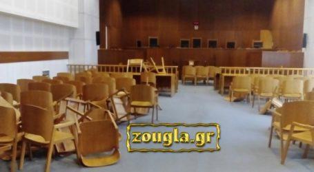 Συγγενείς κατηγορουμένων τα έκαναν γυαλιά-καρφιά στο Εφετείο επειδή δεν τους άρεσε η απόφαση