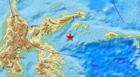 Σεισμός 6,8R σε θαλάσσια περιοχή στην Ινδονησία