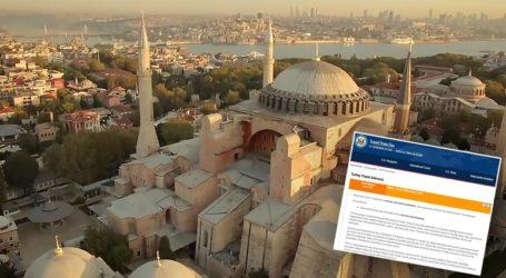 """ΗΠΑ: """"Μην ταξιδεύετε στην Τουρκία"""""""