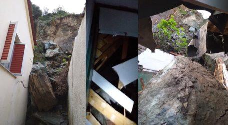 Νέες κατολισθήσεις βράχων στο Πλωμάρι