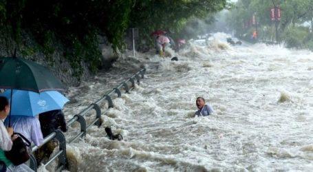 Οι φυσικές καταστροφές στη νοτιοδυτική Κίνα επηρέασαν πάνω από 110.000 ανθρώπους
