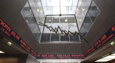 Πτώση καταγράφει το Χρηματιστήριο Αθηνών