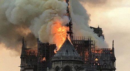 «Πιθανόν» σε ατύχημα οφείλεται η φωτιά στην Παναγία των Παρισίων